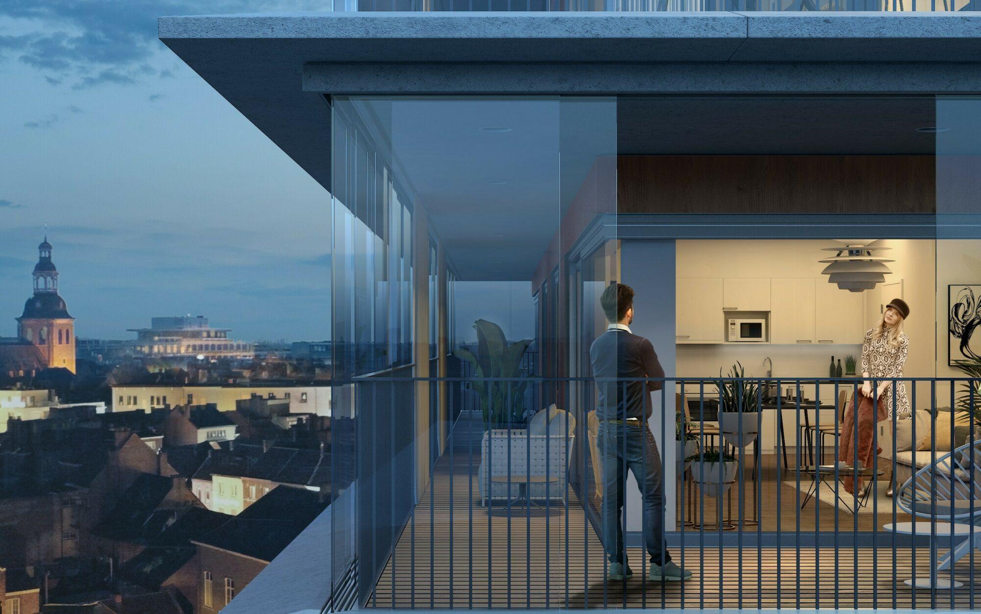 Kolmont Refuga Hasselt Villa Appartement penthouse tekoop