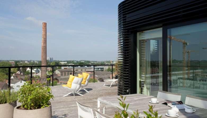 Kolmont Select Zuidzicht penthouse rooftop hasselt